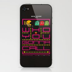 pacman ghostbuster iPhone & iPod Skin