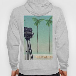 Hollywood Travel poster Hoody