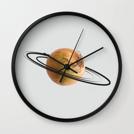 onion saturn Wall Clock