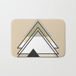 Minimalist Triangle Series 009 Bath Mat