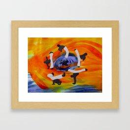 capoeira Framed Art Print