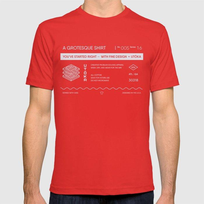 A GROTESQUE SHIRT T-shirt