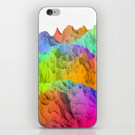Holopunk Mountains iPhone Skin