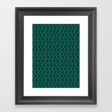 Little Lizards Framed Art Print