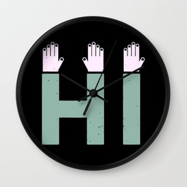 Hi! Wall Clock