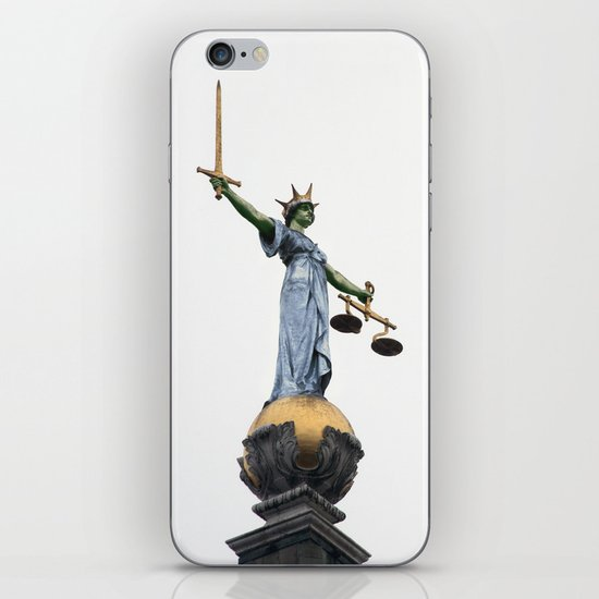 don't make her angry... iPhone & iPod Skin