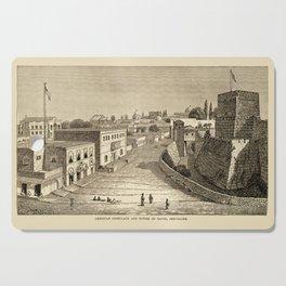 Jerusalem 1857 Cutting Board