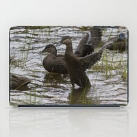 duck iPad Cases featuring Duck by Isabelle Savard-Filteau