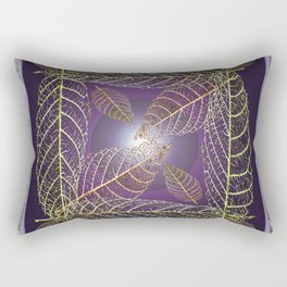 LEAVES OF THE FOUR WINDS Rectangular Pillow