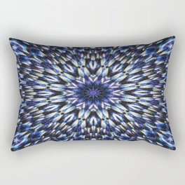 knit pattern kaleidoscope l Rectangular Pillow