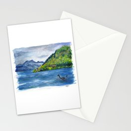 Loch Ness (with Nessie) Stationery Cards