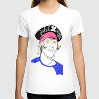 mcfly T-shirts featuring Dougie the pirate (McFly) by Mariam Tronchoni