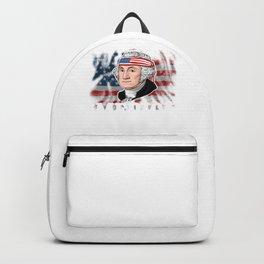 George Washington President Merica Backpack