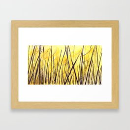 Juncos Framed Art Print