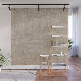 Len Sack Fabric Texture Wall Mural