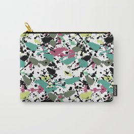 Retro inky pink Carry-All Pouch