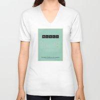politics V-neck T-shirts featuring Politics by politics