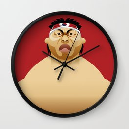 Bloodsport Wall Clock