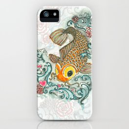Love and Fishes iPhone Case