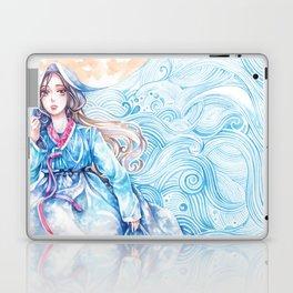 Wavediver - Korean Hanbok Manga Illustration Laptop & iPad Skin