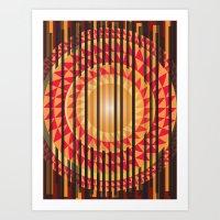 Hidden Sun Art Print