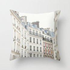 Good Morning, Paris Throw Pillow