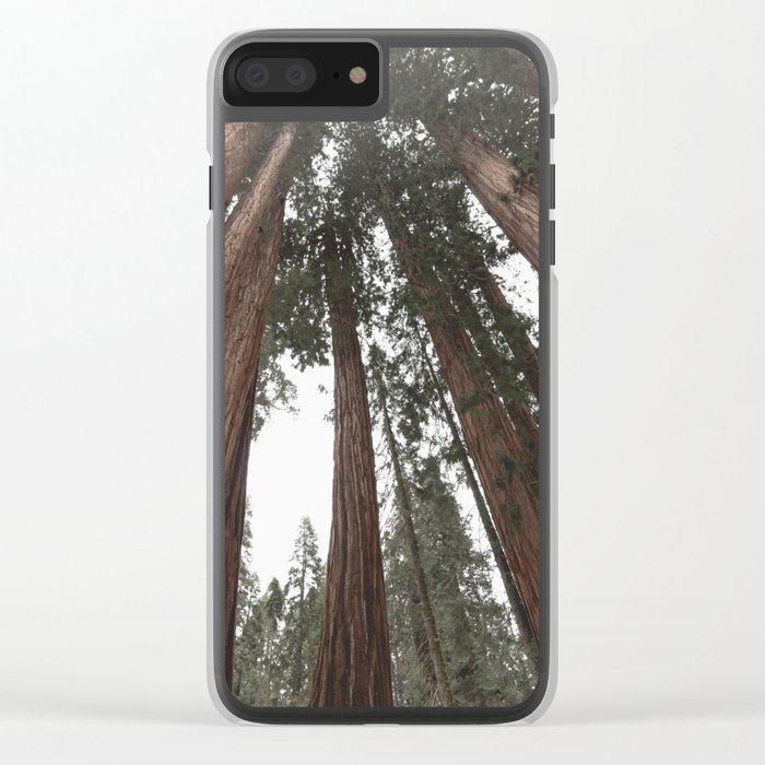 Sky Climbers - Sequoia Clear iPhone Case