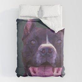 Boss Dog Duvet Cover
