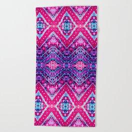 Marrekech Magenta Beach Towel