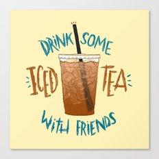 Happy National Iced Tea Day! Canvas Print