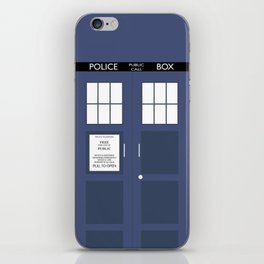 Smaller On The Outside Tardis iPhone Skin