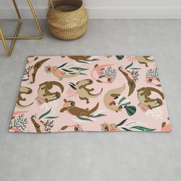 Otter Collection - Blush Palette Rug