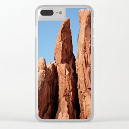 Three Graces at Garden of the Gods Clear iPhone Case