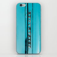 vw iPhone & iPod Skins featuring vw by shine