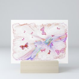 """Flash Dream ~ Butterflies"" Mini Art Print"