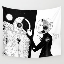I Found a Space for Us Wall Tapestry
