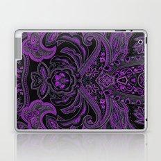 Paisley 3 Purple Laptop & iPad Skin