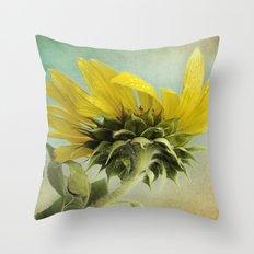 Petals N Points Throw Pillow