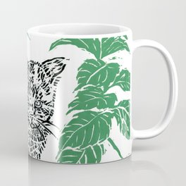 woodblock print Coffee Mug
