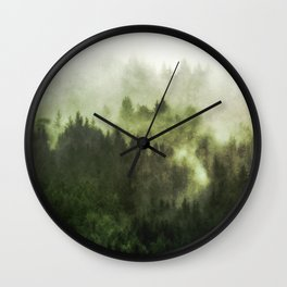 Haven - Nature Photography Wall Clock
