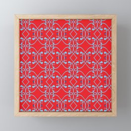 Railings Framed Mini Art Print