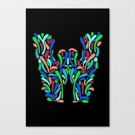 Letter W Canvas Print