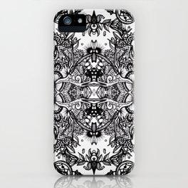 Fractal Blossoms iPhone Case