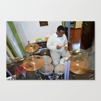 drums Canvas Prints featuring Drums by 1000images