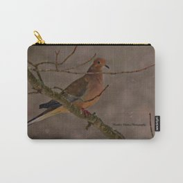 Mourning Dove - New England Blizzard 2015 Carry-All Pouch