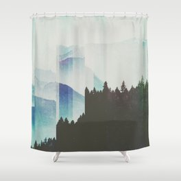 Fractions A58 Shower Curtain