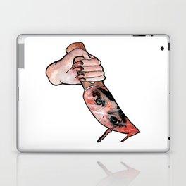the knife girl Laptop & iPad Skin