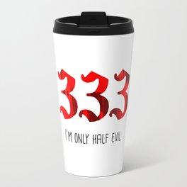 Half Evil Travel Mug
