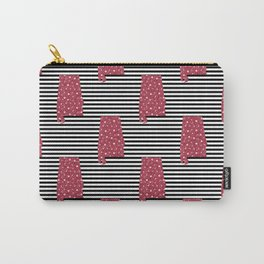 Alabama state silhouette stripes university of alabama crimson tide floral college football gifts Carry-All Pouch