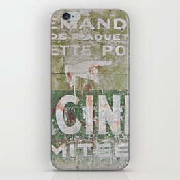 Ghost Sign iPhone Skin